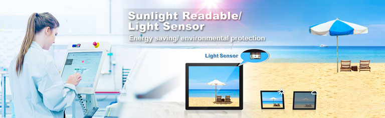 Sunlight Readable LCD Monitor